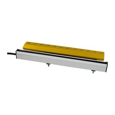 Lama d'aria Airmasters con barra ionizzante antistatica
