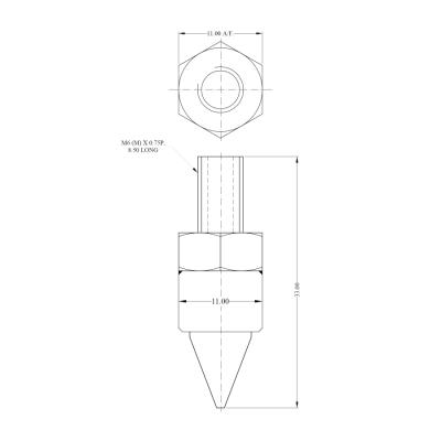 Air nozzle AIR-FS07S