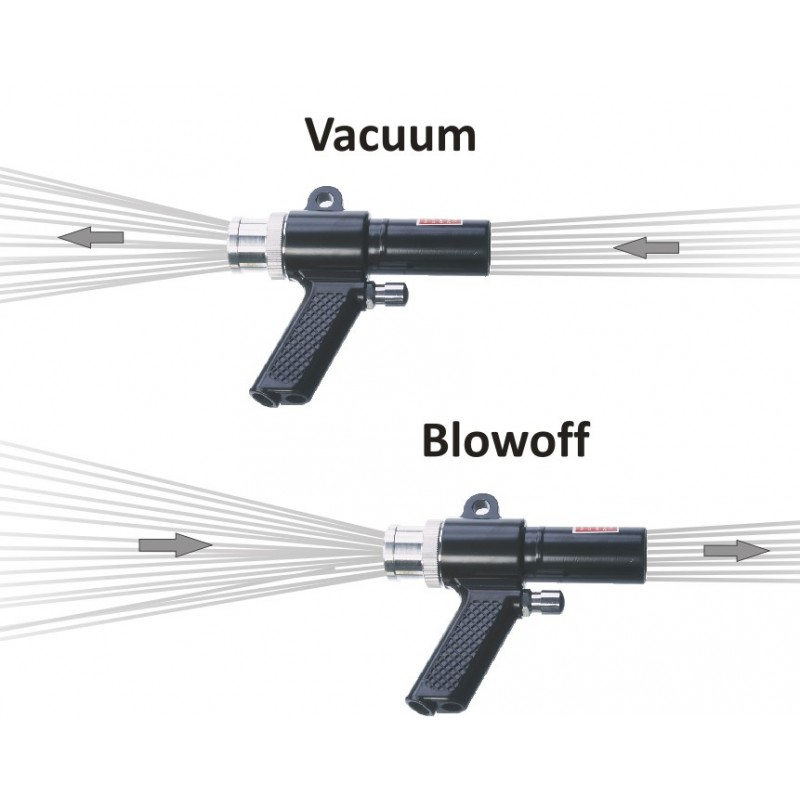 Vacuum gun X-STREAM HAND VAC